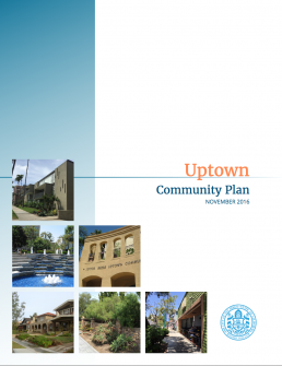 thumbnail image of the Uptown Community Plan 2016