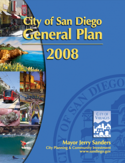 Thumbnail cover of San Diego General Plan